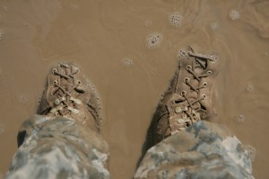 how to clean military boots