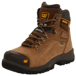 Caterpillar Men's Diagnostic Steel-Toe Waterproof Boot