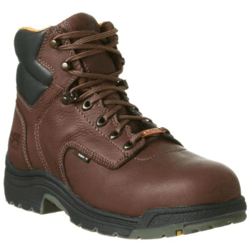 "Timberland PRO Men's 26078 Titan 6"" Waterproof Safety-Toe Work Boot"