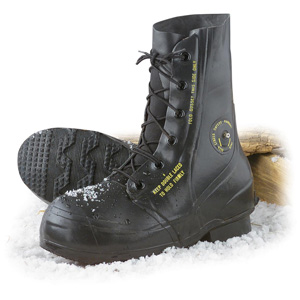 US Military Bata ECW Mickey Mouse Boots Valve Arctic Extreme Cold Weather Color Black 9 Regular