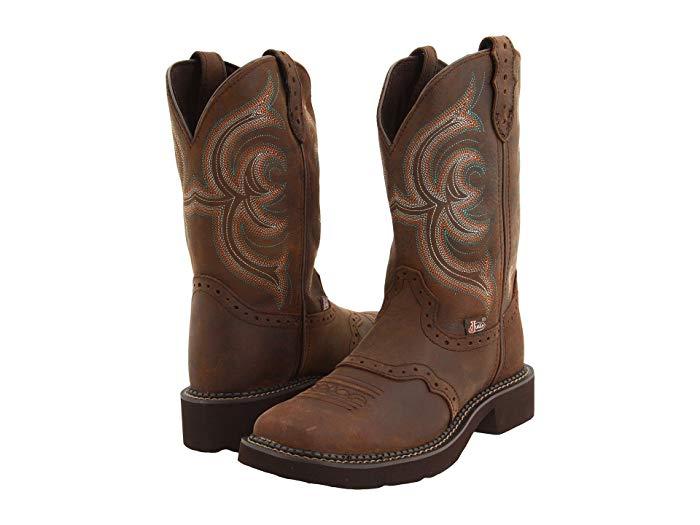 Justin Inji Boots