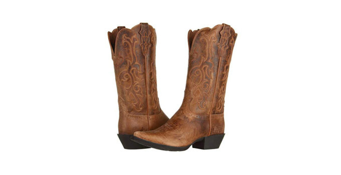 Justin McKayla Women's Cowgirl Boots